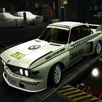 Vintage BMW Taxi Puzzle