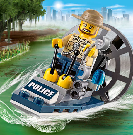 Game Lego City: Swamp Police