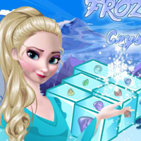 Game Frozen Elsa Crystal Match
