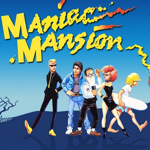 Game Maniac Mansion