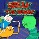 Game Adventure Time: Break the Worm