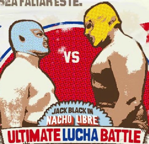 Game Nacho Libre: Ultimate Lucha Battle