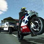 Game Motorbike versus Police