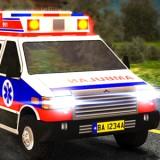 Game Medical Van 3D Parking