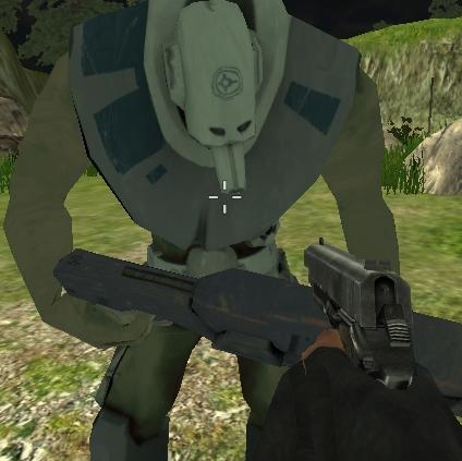 Killing Aliens 3D