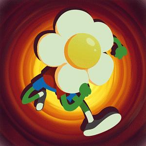 Game Run Flower Run