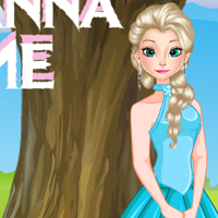 Elsa and Anna Picnic Time