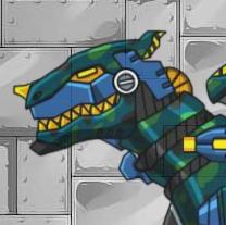 Game Dino Robot Tyrannosaurus Solider