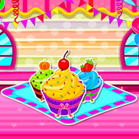 Game Delicious Creamy Cupcakes