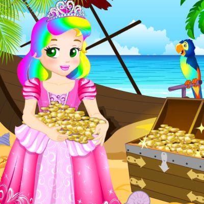 Princess Juliet Escapes Treasure Island