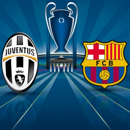 Game Juve vs Barca
