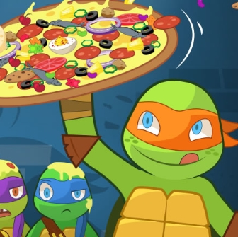 Game Teenage Mutant Ninja Turtles: Pizza Like A Turtle Do!