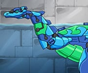 Game Dino Robot Deep Plesio