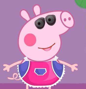 Game Peppa Pig Crazy Dress-Up