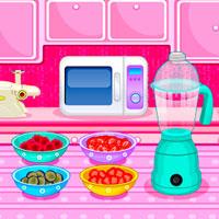 Game Cooking Fruit Ice Cream