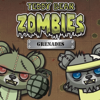 Game Teddy Bear Zombies Grenades