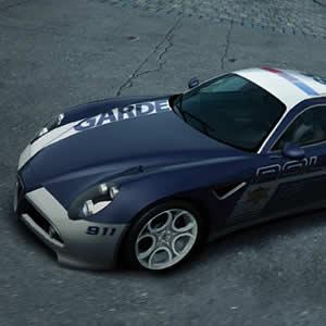 Game Alfa Romeo Police Puzzle