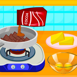 Game Cooking Delicious Fudge Puddles Cake