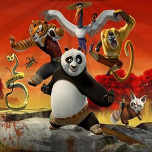 Game Kung Fu Panda Heroes Puzzle