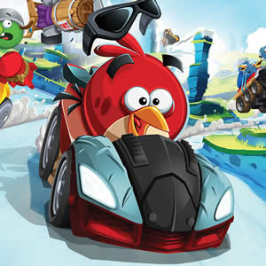 Game Angry Birds Racing Puzzle