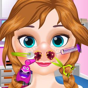 Game Anna Nose Check-Up