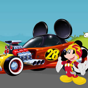 Game Mickey Roadster Puzzle
