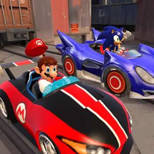 Game Mario vs Sonic Puzzle