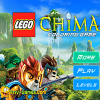 Game Lego Chima Coloring