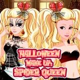 Halloween Make Up  Spider Queen