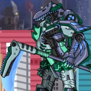 Mosasaurus Dino Robot