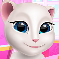 Game Talking Angela Cooking Session