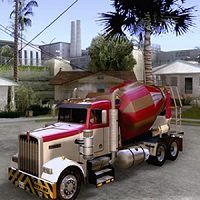 Game Cement Mixer Truck