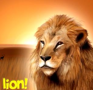 Game Wild Life Lion