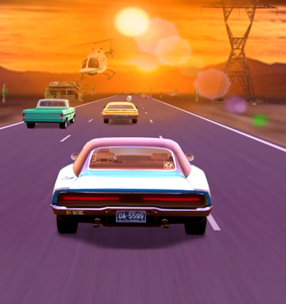 Race of the Decades Game Online kiz10