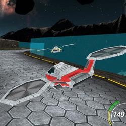 Game Aircraft Race