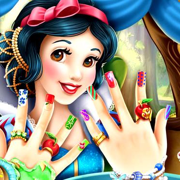 Game Snow White Nails