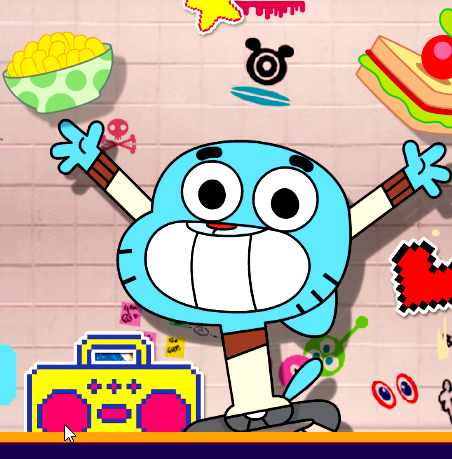 Game Gumball?s Manic Canteen