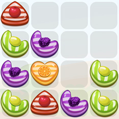 Game 2048 Candy Fusion