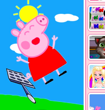 Game Peppa Pig Bounce