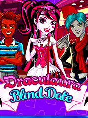 Game Draculaura Blind Date