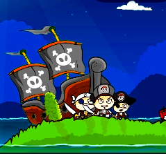 Game Pirate Booty