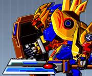 Robot Lion Hero