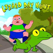 Game Clarence: Lizard Day Hunt