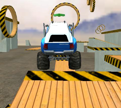 Game Monster Truck 3D Arena Stunts