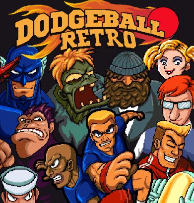Game Dodgeball Retro