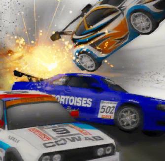 Game Street Race Takedown