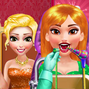 Game Princess Dentist Party Make Up