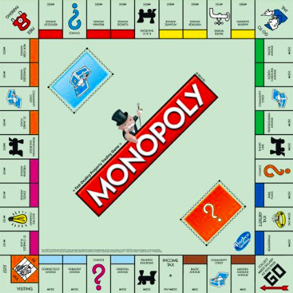 Game Monopoly 3D Online