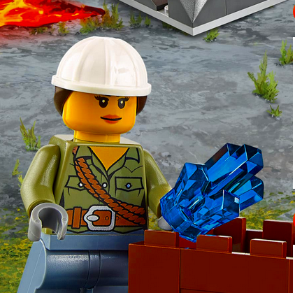 Game LEGO City Volcano