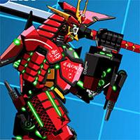 Game Battle Robot Samurai Age